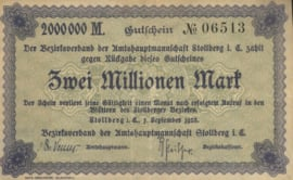 Stollberg 4892.e 2.000.000 Mark 1923