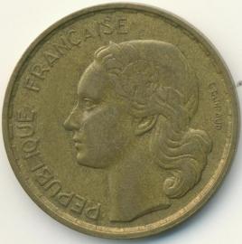 Frankrijk 20 Francs KM917 (en varianten) 1950-1953