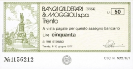 Banca Calderari & Moggioli