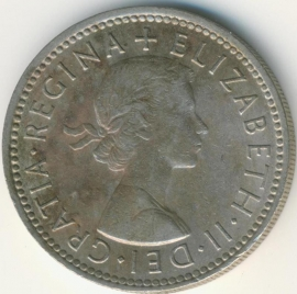Engeland 1 Shilling 1966 Scottish Arms KM# 905