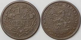 Nederland Sch.1007 1/2 Cent 1911