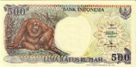 Republiek Indonesië 1951 - Heden P128 500 Rupiah 1992