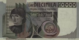 Italië P106.b 10.000 Lire 1982