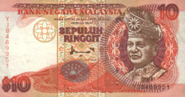 Maleisië P38 10 Ringgit 1995 (No date)