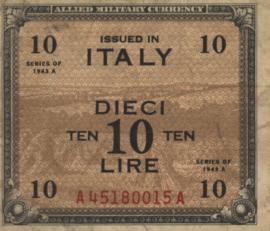 Italië PM13.a 10 Lire 1943