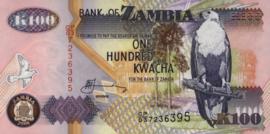 Zambia P38.g 100 Kwacha 2008