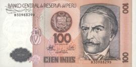 Peru  P133 100 Intis 1987