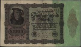 Deutsches Reich 50.000 Mark 1922-11-19 DEU-89