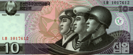 Korea (Noord) P59 10 Won 2002