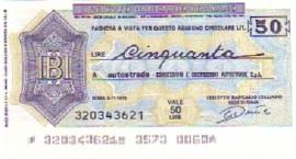 Istituto Bancario Italiano - 50 Lire