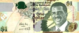 Bahamas P71 1 Dollar 2008