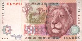 Zuid Afrika P125.b 50 Rand 1992-99 (No Date)