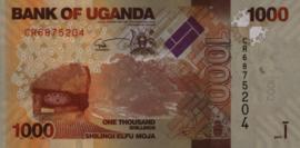 Oeganda P49.e 1.000 Shillings 2017