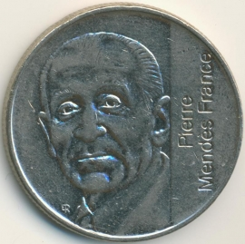 Frankrijk 5 Francs KM1006