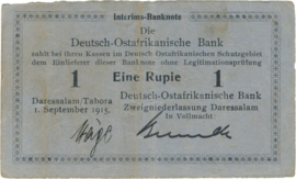 1 Rupee 1915.09.01. Ros 911.a