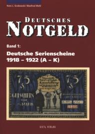 Duitsland Band 1+2 Deutsche Serienscheine 1918-1922