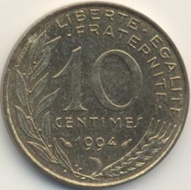Frankrijk #KM929 10 Centimes 1962-2000