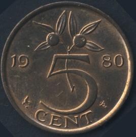 5 Cent 1980