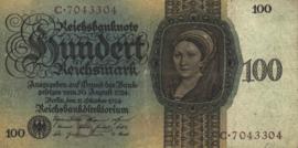 Duitsland P178.B: C 100 Reichsmark 1924