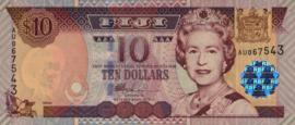 Fiji P106.a 10 Dollars 2002 (No date)