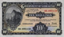 Gibraltar Pnew 10 Shillings 2018