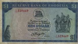 Rhodesië P38 1 Dollar 1979