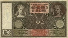 Nederland PL97.d1.R 100 Gulden 1930