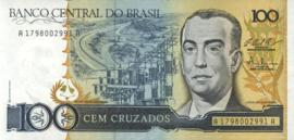 Brazilië P211.c 100 Cruzados 1986-88 (No date)