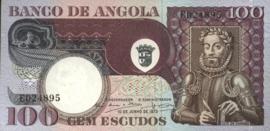 Angola P106 100 Escudos 1973