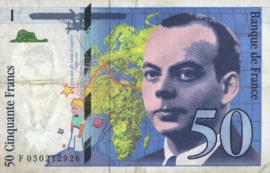 Frankrijk P157A.f 50 Francs 1994