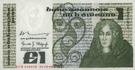 Ierland P70.b 1 Pound 1977-84 (No date)