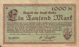 Gotha 1825.8.b 1.000 Mark 1923