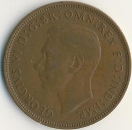 Engeland 1 PENNY 1948 KM# 845