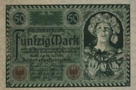 Duitsland P68 50 Mark 1920