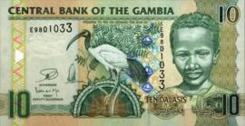 Gambia P26.c 10 Dalasis 2006 (No date)
