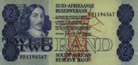 Zuid Afrika P118.d 2 Rand ND (1978-90)