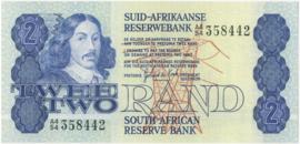 Zuid Afrika P118.b 2 Rand 1978-90 (No date)