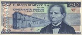 Mexico P73 50 Pesos 1981