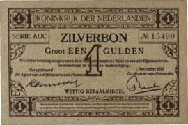 Nederland PL2.b2: 1 Gulden 1917-11-1