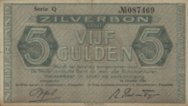 Nederland PL21: 5 Gulden 16-10-1944