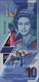 Oost Caribische staten pNEW 10 Dollars 2019