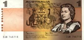 Australië P42.d 1 Dollar 1974-1983 (No date)