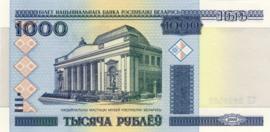 Belarus P28 1.000 Rublei 2000 NBRB28b