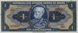 Brazilië P132.sign 4 1 Cruzeiro (old) 1944 (No date)