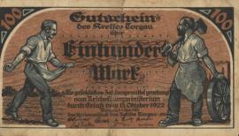 Torgau 4740.1 100 Mark 1922