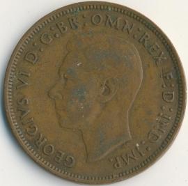 Engeland 1 PENNY 1944 KM# 845