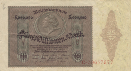 Duitsland Pick-Rixen: 093 5.000.000 Mark 1923-06-01 Ros.088