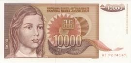 Joegoslavië P116.a 10.000 Dinara 1992