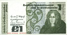 Ierland P70.c 1 Pound 1977-84 (No date)