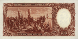 Argentinië P272.c3 100 Pesos 1951 (No date)